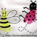 ape e coccinella