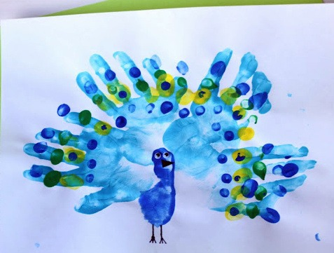 Dipingere Con Le Mani 24 Idee Divertenti E Facili Da Realizzarebabalà