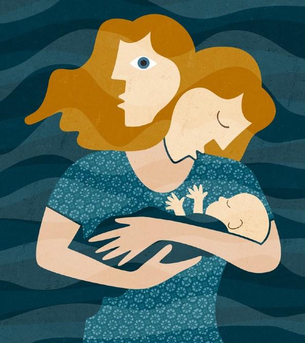 Risultati immagini per depressione post parto