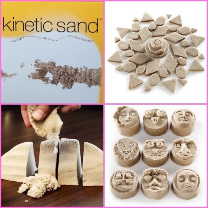 come funziona kinetic sand